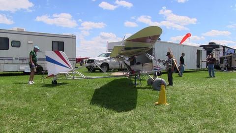 Backyard Flyer Ultralight backyard flyer, valley engineering, 50 hp hirth f23 engine, part 103