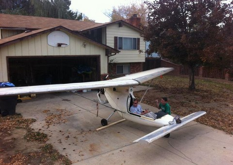 Falcon Part 103 legal ultralight aircraft, by American
