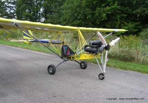 Javelin Part 103 legal ultralight aircraft, by Capella