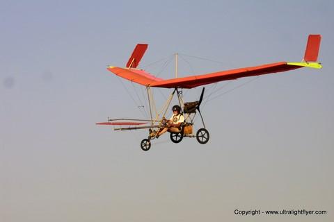 Pterodactyl Ascender part 103 legal ultralight aircraft