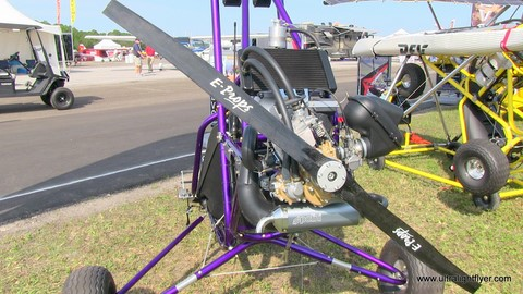 Rev Ultralight Trike, With Polini Thor 250 Engine, From